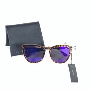 New Quay Sunglasses Honey Cat Eye